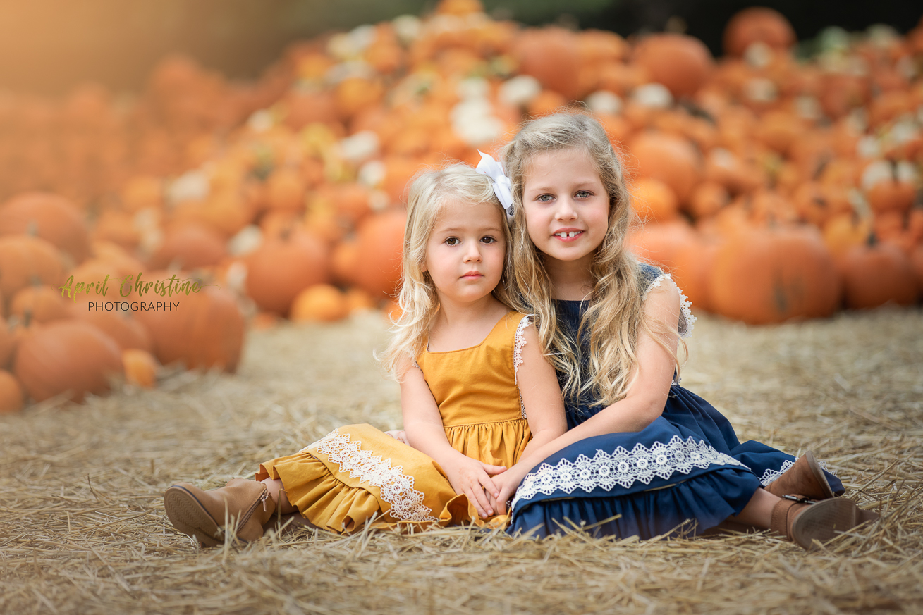 Dallas Fort Worth Pumpkin Patch Photographer