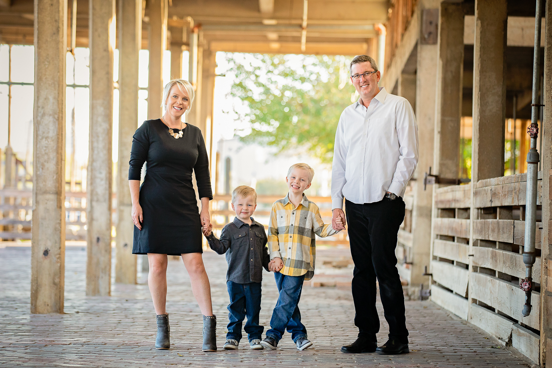 Fort Worth Stockyards Family Pictures