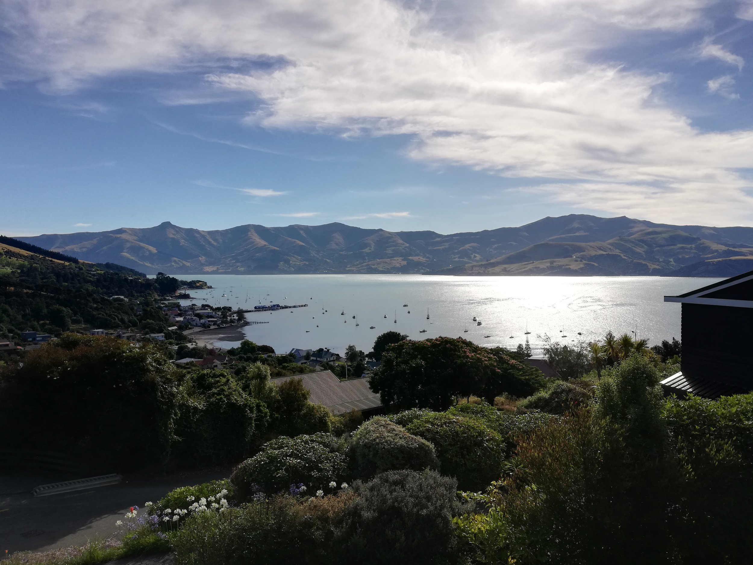 Akaroa Harbor.