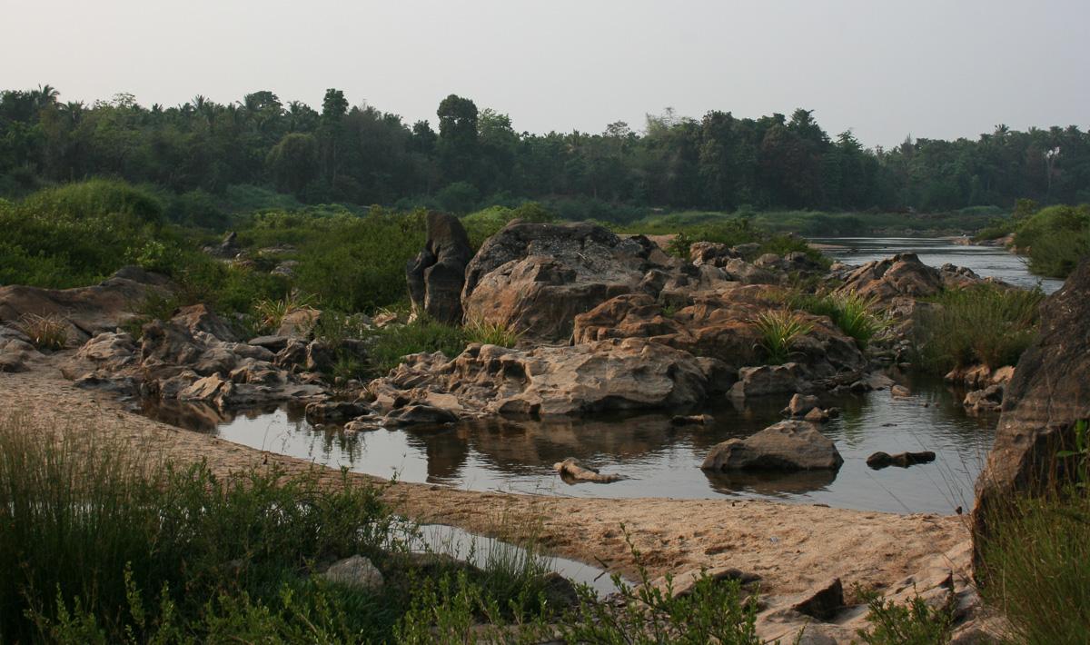 Kumaradara River, Puttur, Karnataka.