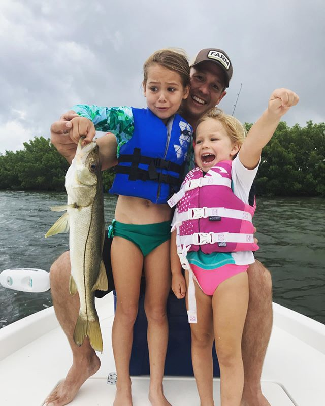 Everyone's loving the summertime snook bite! Call Captain Mike to book your family fishing trip this summer 🎣 (863) 441-2656  #taskforcefishingcharters #charlotteharbor #puntagordafl #fishflorida #snookfishing #summervacation