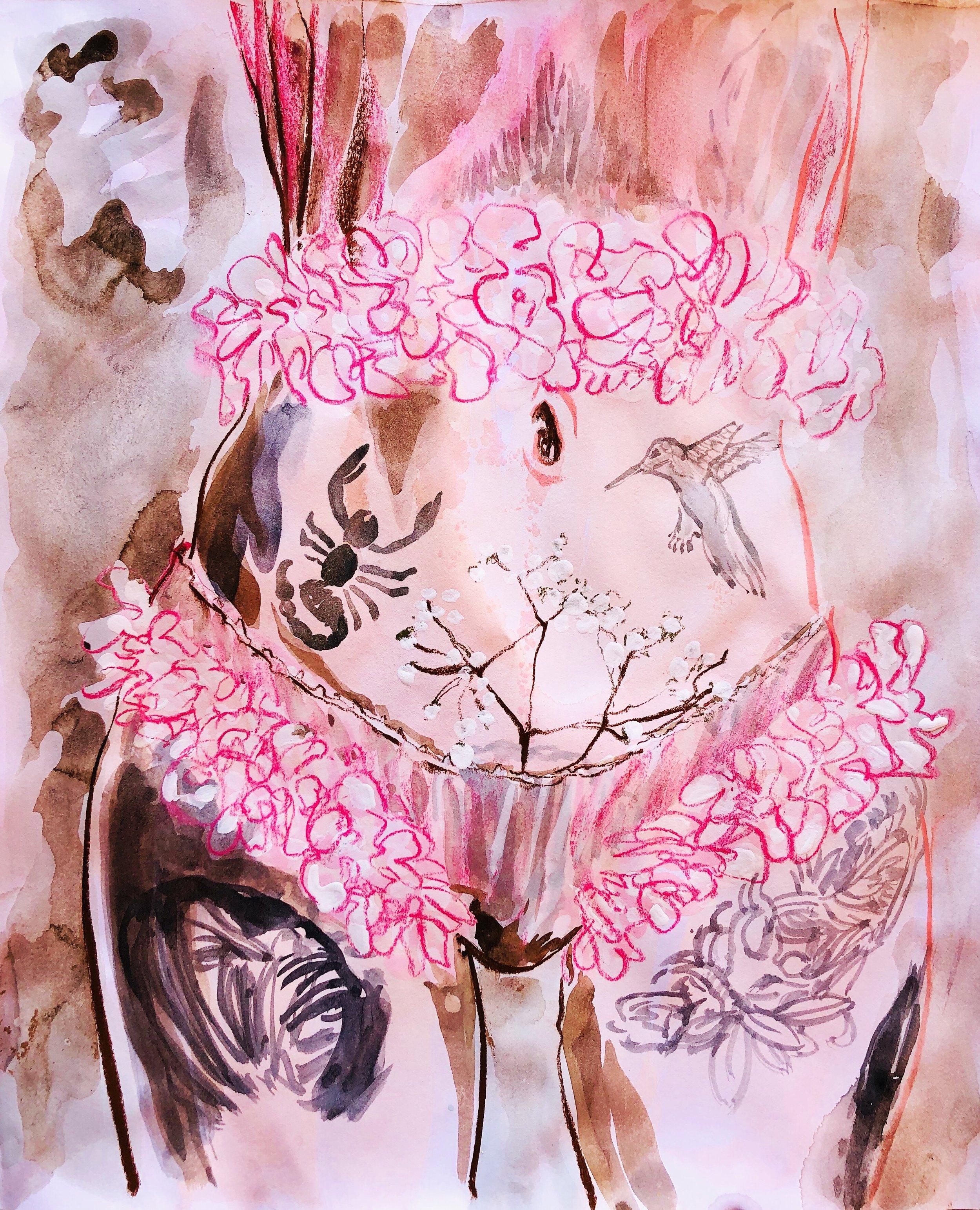 My body parts & @misscrofton lingerie.