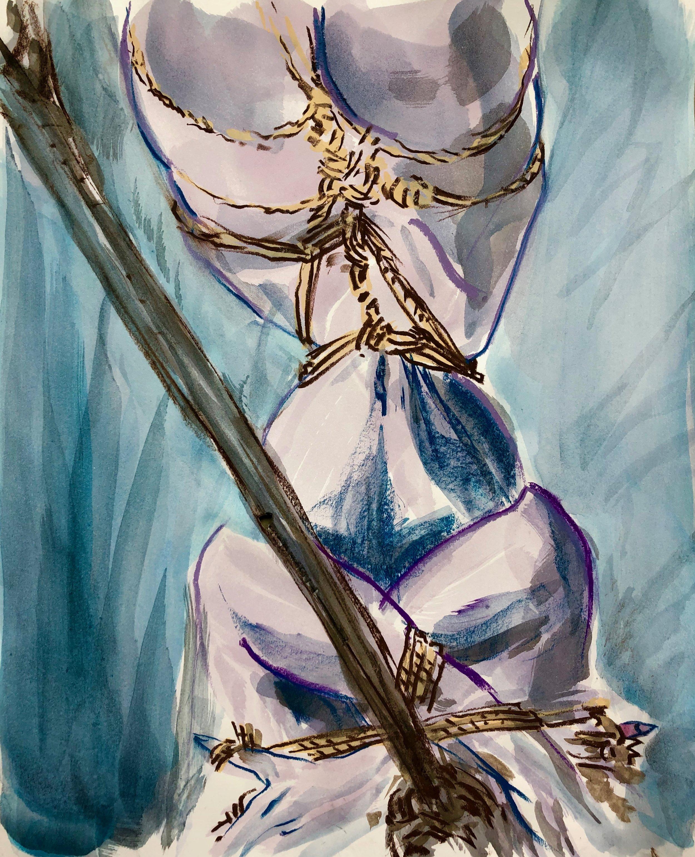 waist Photo and rope Hajime Kinoko🇯🇵