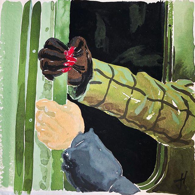 "@subwayhands - Gouache on paper, 8.5""x8.5"" - #subway #newyork #nyc #train #hands #gloves #umbrella #handbag #eccentric #human #art #artist #artwork #drawing #charcoal #gouache #contemporaryart #instafame #instaart #instaartist #artofinstagram #portrait #figure #gallery #artdealer #curator #selfie #influencer #socialmedia #appropriation"