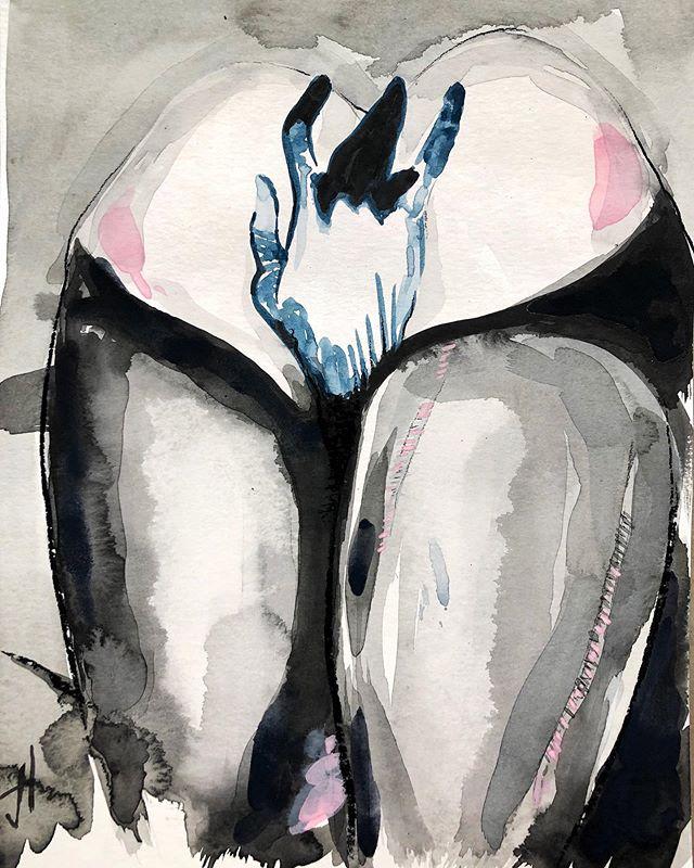 "@ashleydarianolah Hold meeee - Gouache, charcoal and pastel on paper, 12""x9"" - #losangeles #ass #bum #fishnets #stockings #art #artist #artwork #drawing #charcoal #gouache #contemporaryart #instafame #instaart #instaartist #artofinstagram #portrait #figure #gallery #artdealer #curator #selfie #influencer #socialmedia #appropriation #LAArt #LosAngelesArtist  #ArtLosAngeles #LAArtist"
