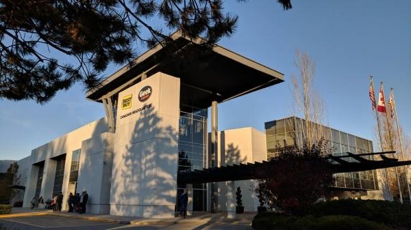 Best Buy Canada Headquarters in Burnaby, B.C.