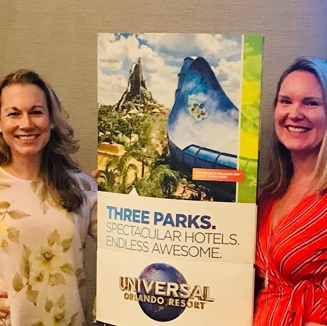 Spending the day learning about all of the excitement happening both now and in the future at Universal Studios Orlando! Minion suites, Jurassic World suites and even MORE HARRY POTTER! #universal #orlando