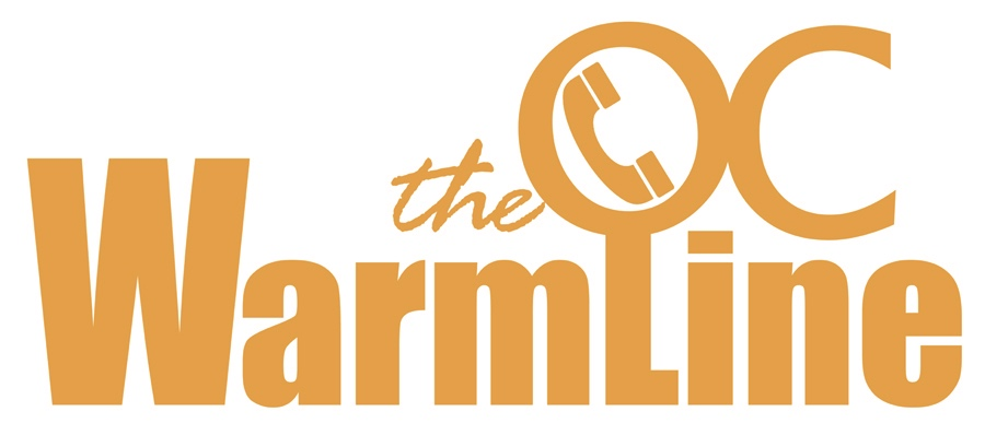 The NAMI OC WarmLine is a free and confidential telephone service providing emotional support and resources to Orange County residents. - If you, a family member, or a loved one are experiencing mental health concerns, substance abuse, loneliness or are in need of community resources, The WarmLine is for you!