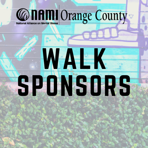 We invite you to partner with us as a sponsor for this year's 15th Annual NAMIWalks Orange County!NAMIWalks Orange County is our largest community awareness campaign to eliminate the stigma of mental illness and to fund mental health program delivery. NAMI Orange County is one of the most recognized mental health organizations in Orange County, and our 5K walk enjoys similar recognition. - Partnering with us will give your organization increased exposure in our community, not only on the day of the event but in the months leading up to NAMIWalks Orange County as well.