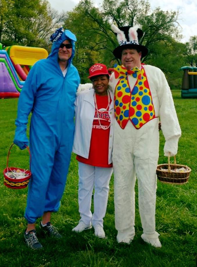 BiPartison Easter Bunnies Rep Bill Beck & Senator Steve Dickerson.jpg