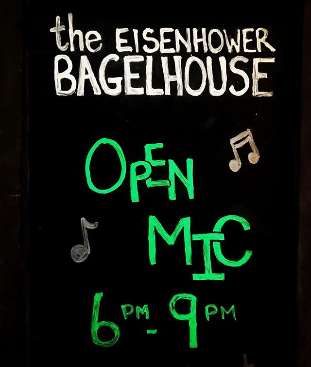Come one, come all, to the funnest, most bagel-y Open Mic of them all! Tonight is the night people. We've got music, we've got drinks, we've got food, wevey got @eggybaby1981  hosting, all we are missing is Y-O-U!  So come on down! Sign up starts at 6pm, acts start at 7pm. #bagelhousepdx #openmic #lukeshort #singersongwriter #fun
