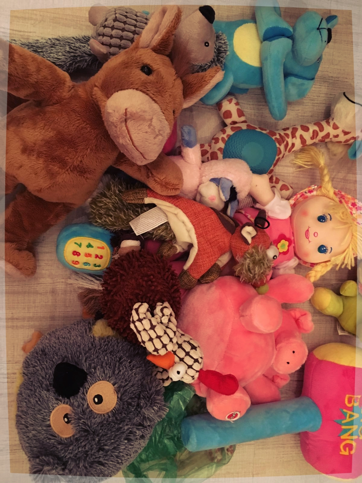Charity concert funded toys (Romania)