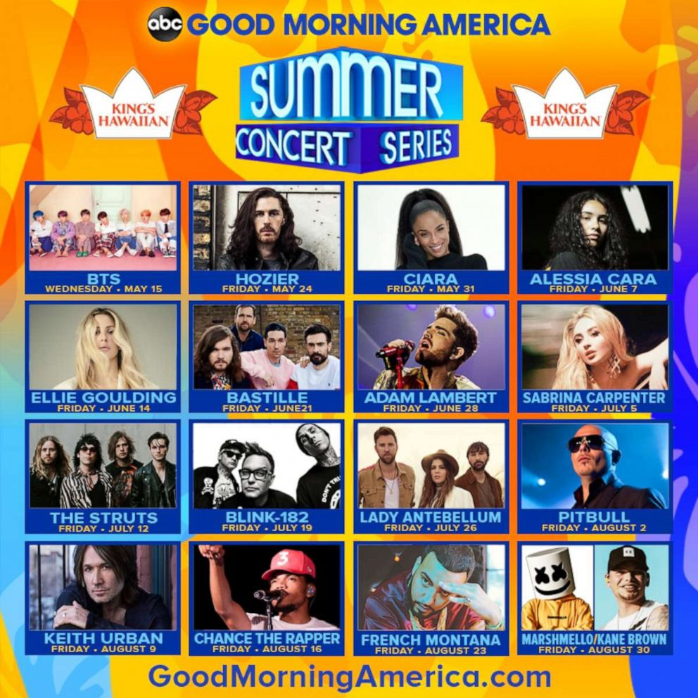 GMA] 2019 Summer Concert Series LIVE — US BTS ARMY