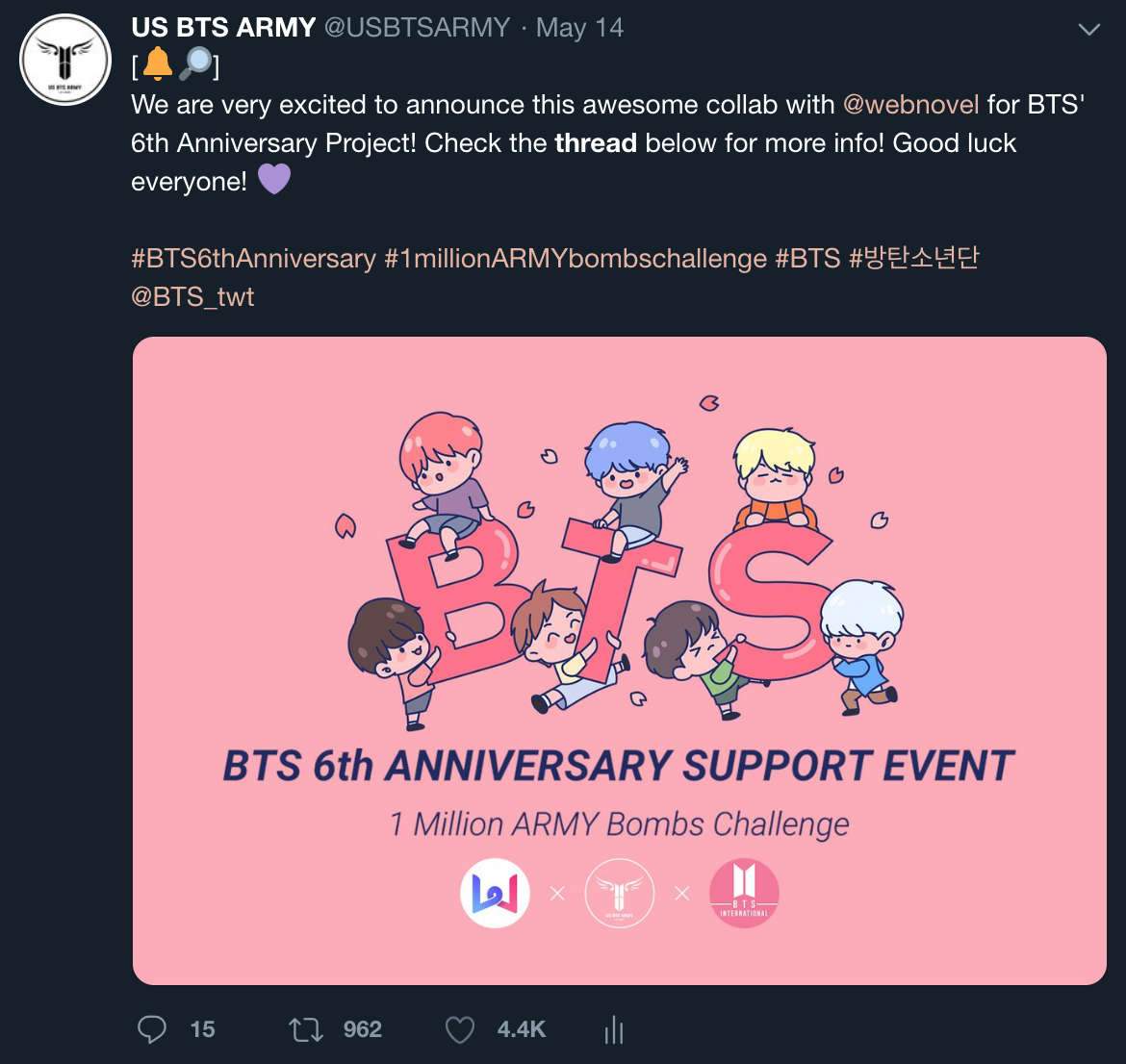 Projects — US BTS ARMY