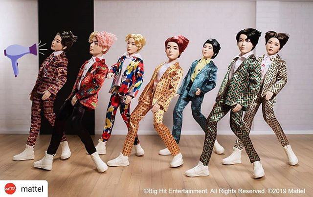 #Repost @mattel • • • • • When you're blown away by everything #BTS does. Shop now! 💜💨💫 #BTSxMattel #BTSDollsOfficial #BangtanBoys . . . . . . . #BTS #방탄소년단 #RM #Namjoon #KimNamjoon #Jin #Seokjin #KimSeokjin #Suga #Yoongi #MinYoongi #JHope #Hoseok #JungHoseok #Jimin #ParkJimin #V #Taehyung #KimTaehyung #Jungkook #JeonJungkook
