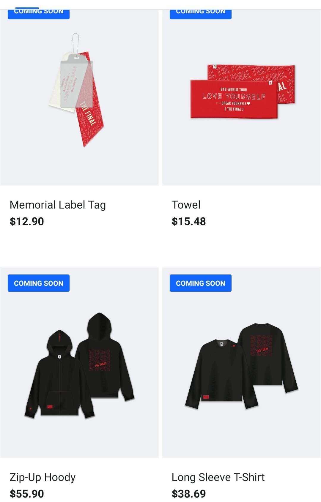 """""""LOVE YOURSELF : SPEAK YOURSELF"""" The Final Official Merch ..."""