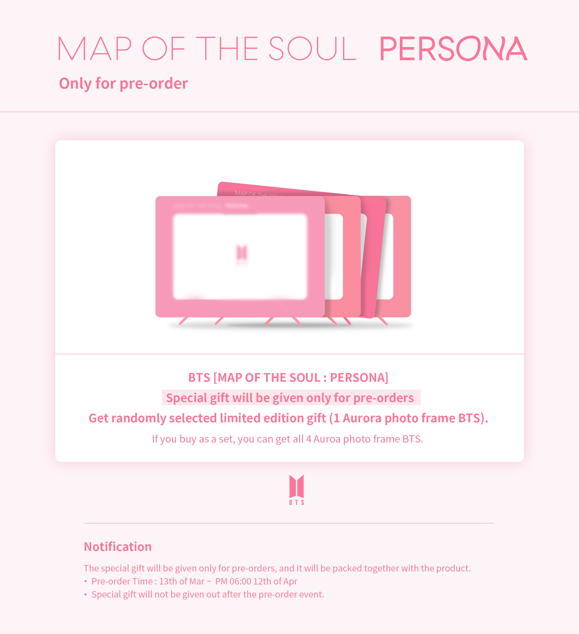 Standee Map Of The Soul OFFICIAL BTs ALBUM PHOTOCARD Vers Love Yourself Persona