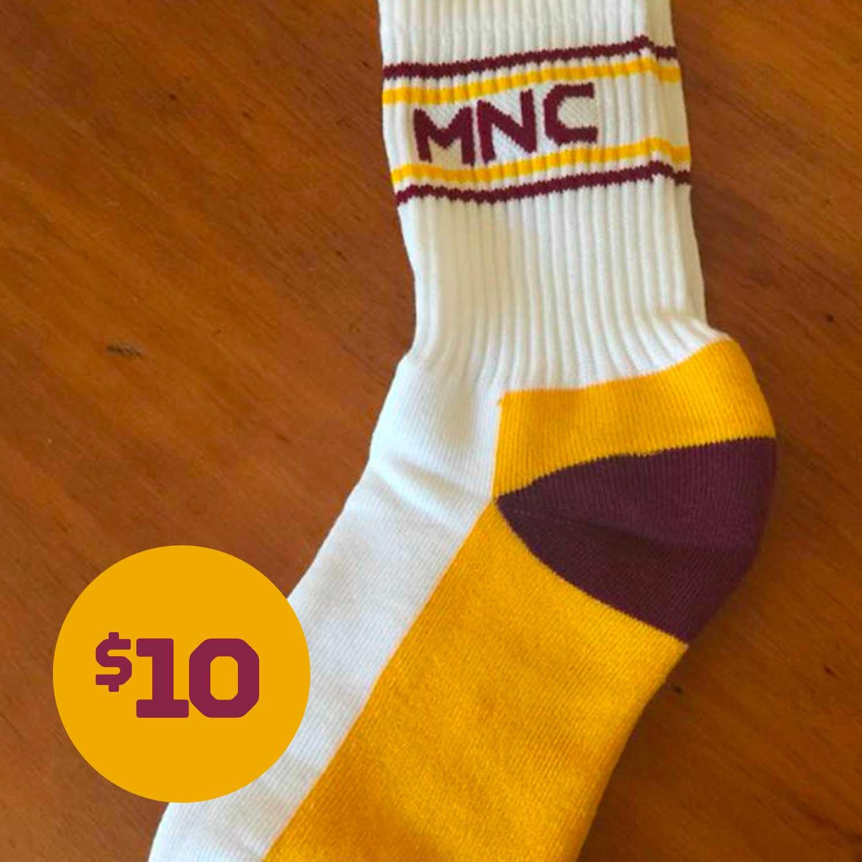 MNC Official Club Socks - $10