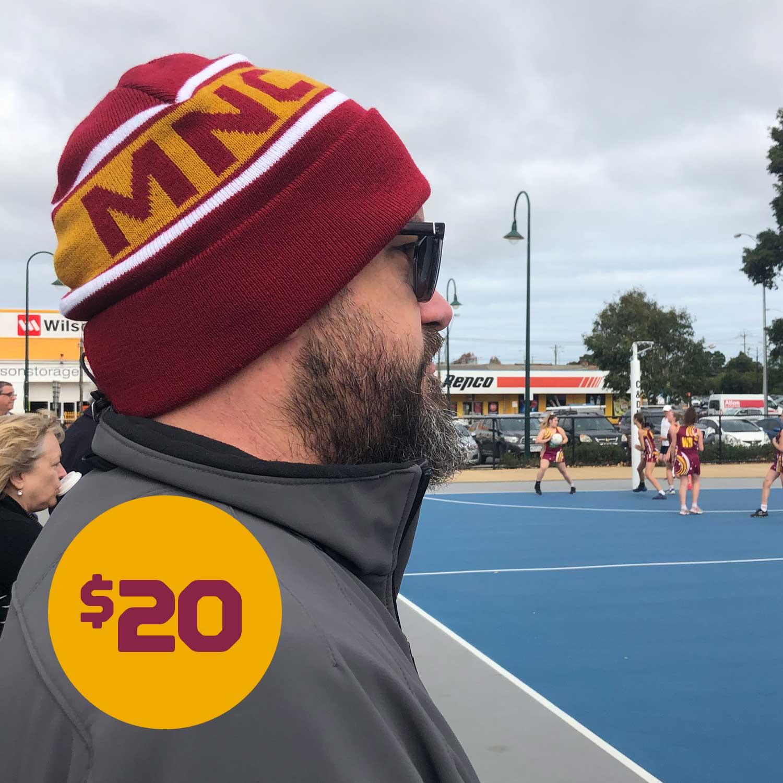 MNC Official Club Beanie - $20