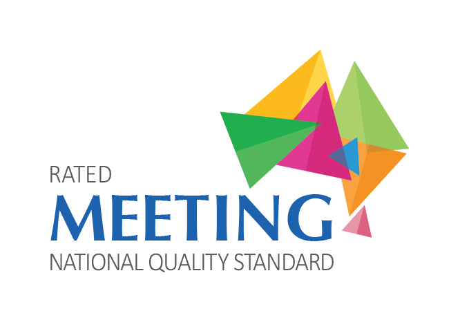 We are pleased to meet the national quality standard for childcare -