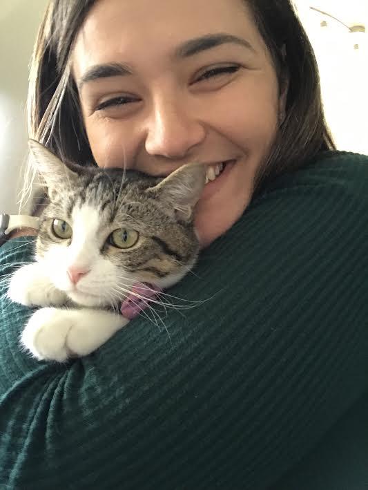 Danielle & her new fur baby !