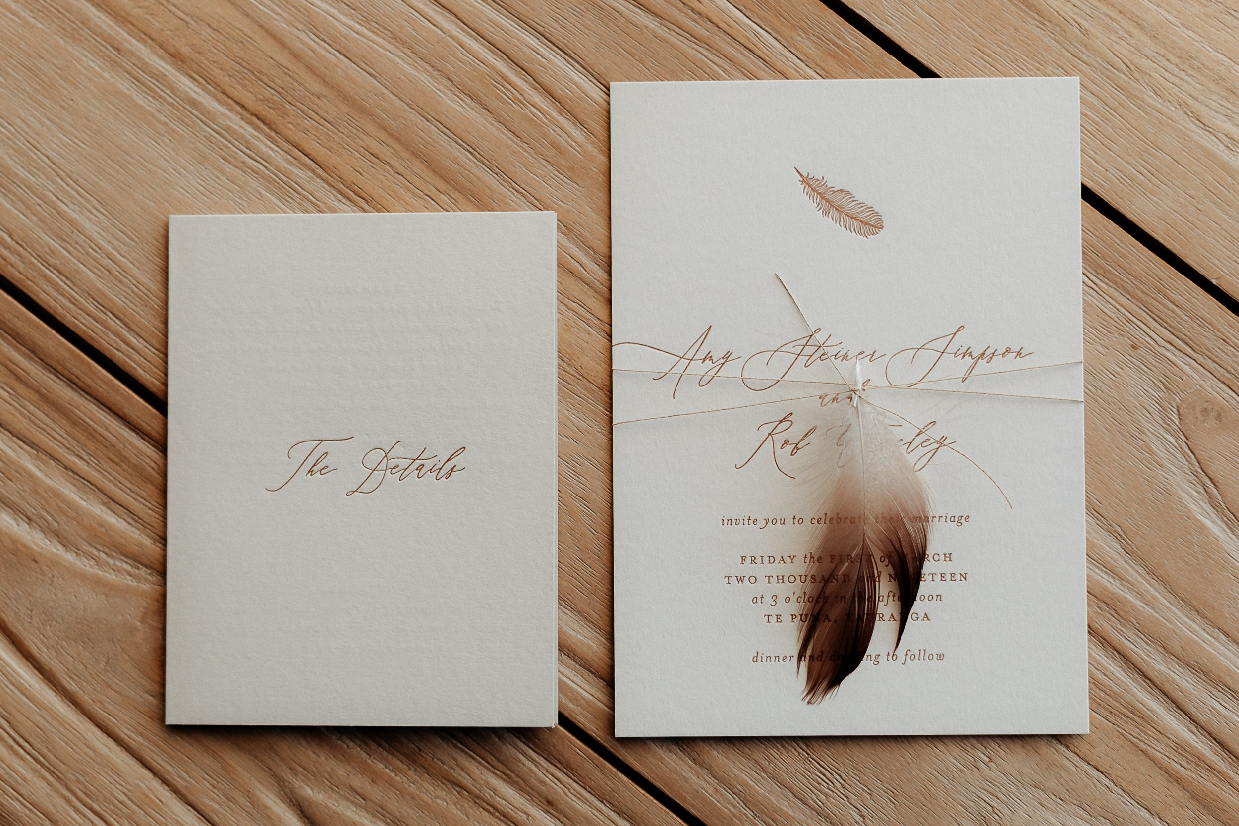 Wedding Invitations & Stationery Inker Tinker