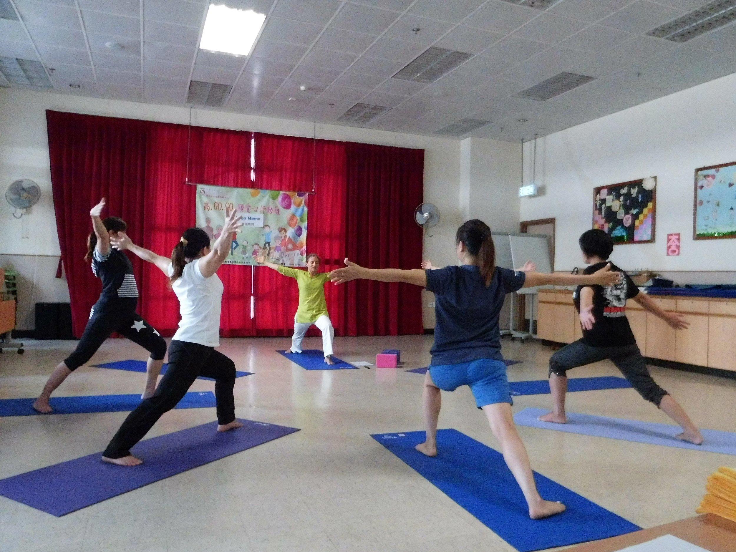 Yoga Mama at the community centre June 2015.jpg