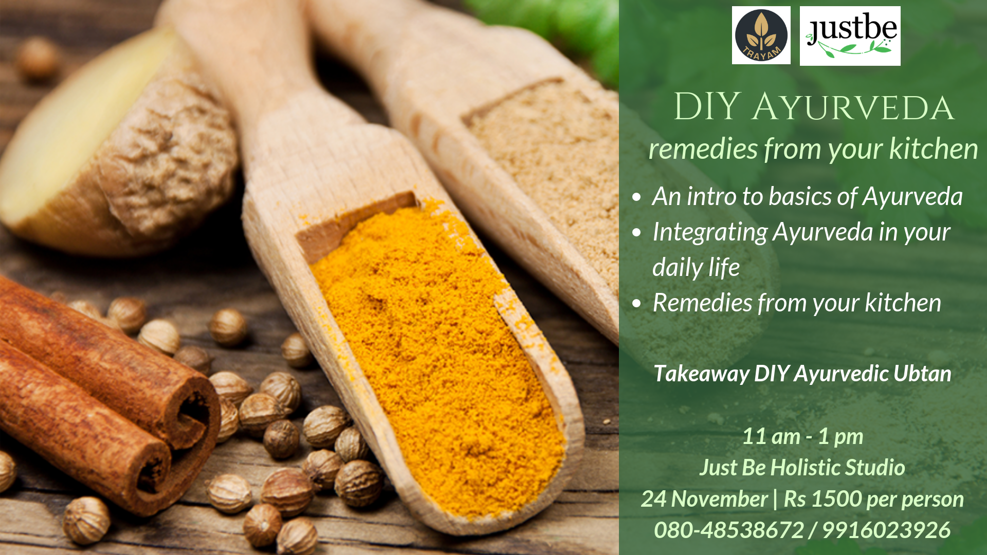 DIY Ayurveda - remedies from your kitchen