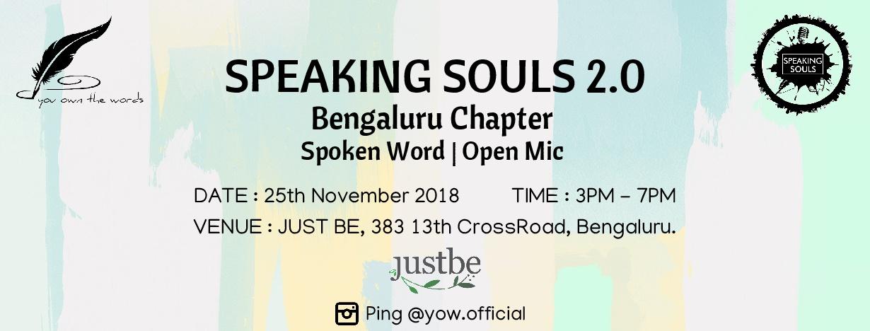 Speaking Souls 2.0: Bengaluru .jpg