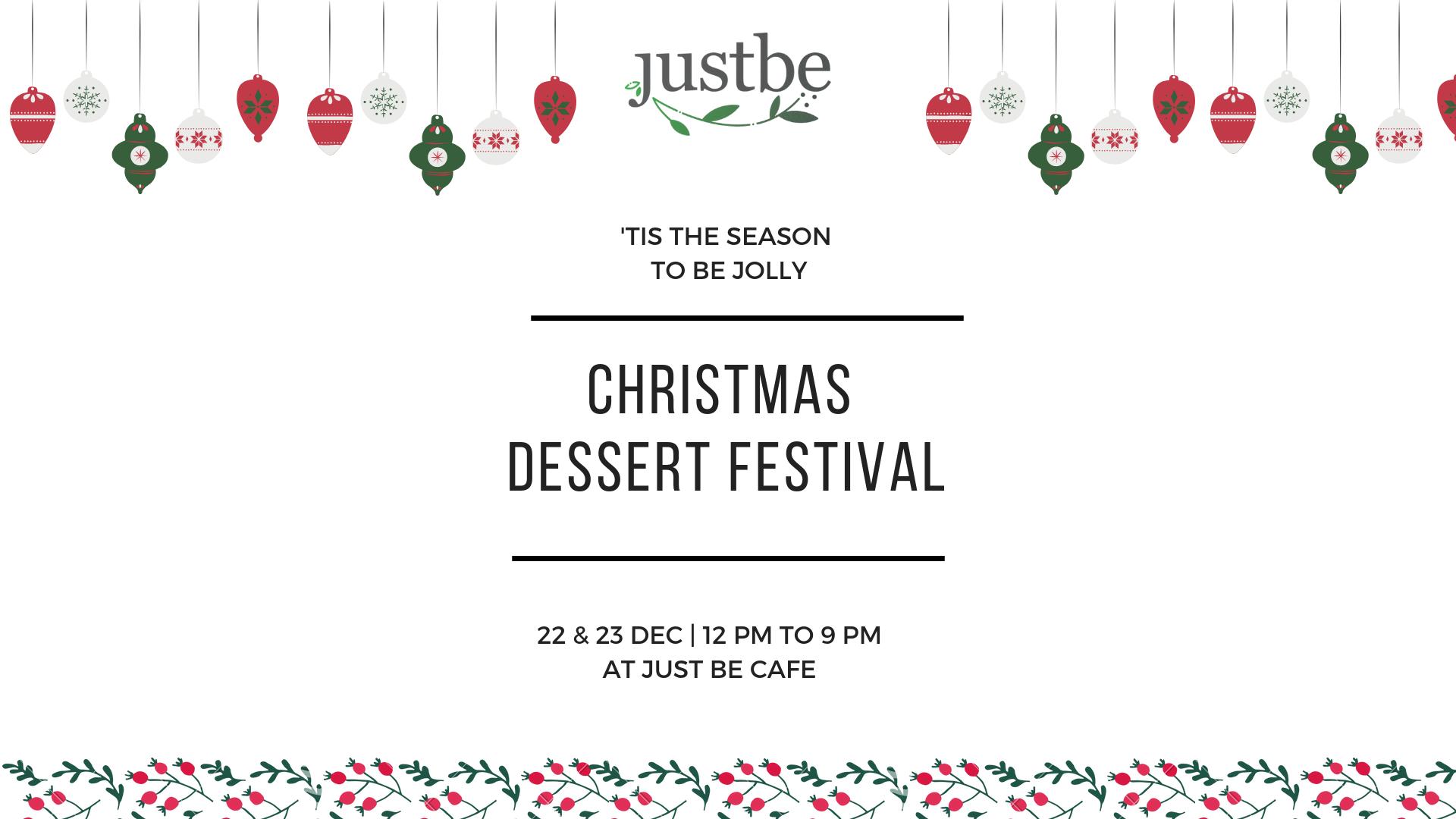 Christmas Dessert Festival