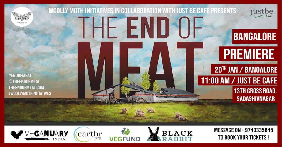The End Of Meat Vegan Documentary Bangalore
