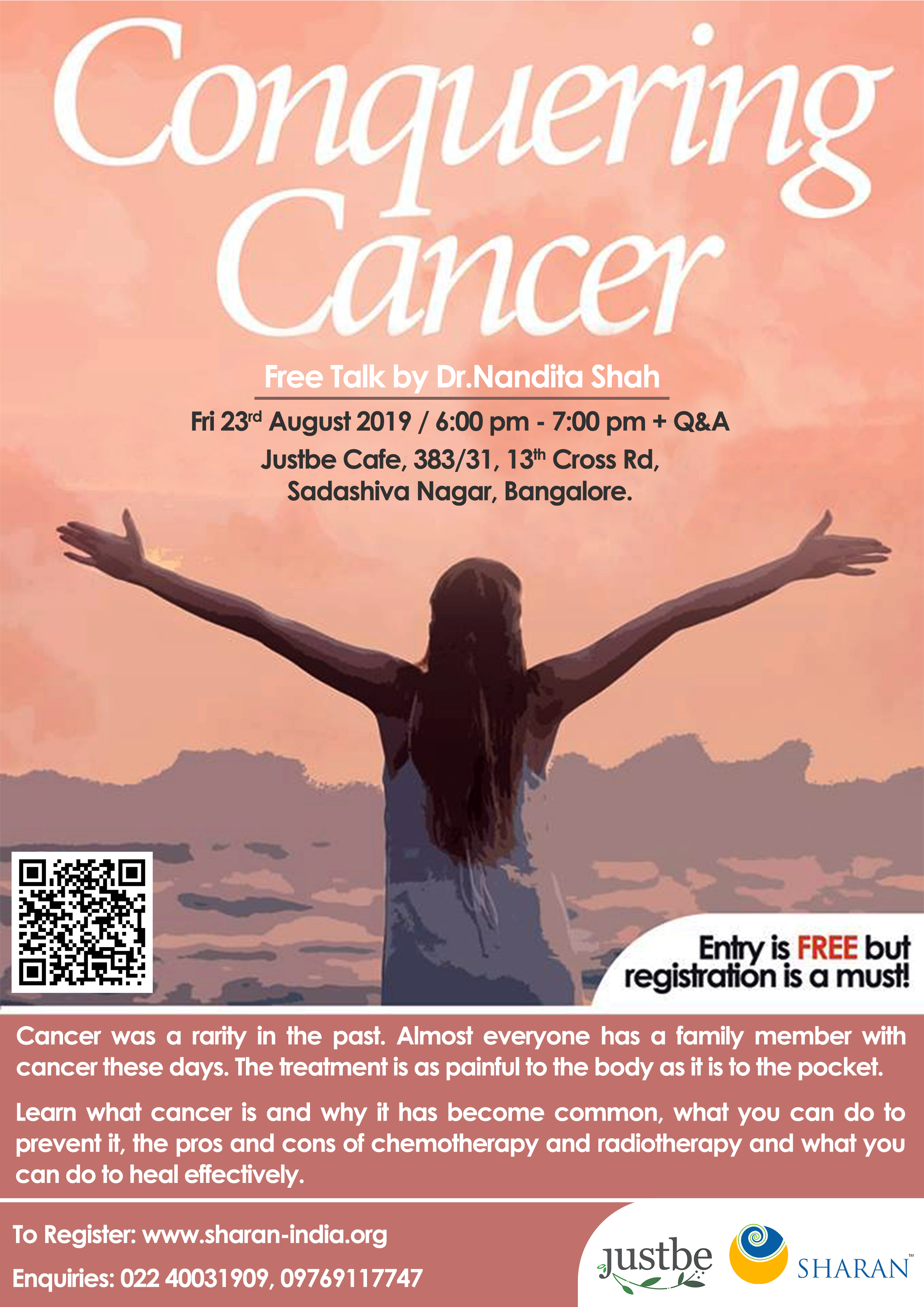 23.7.2019 - Conquering Cancer Free Talk, Bangalore.jpg