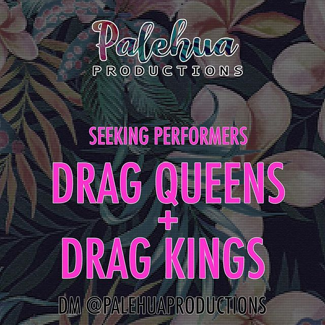 We're setting up our dates for the next few months and we want more special guests! All DRAG performers encouraged! . Interested in being in our show? DM US, Let us know! . . Want to see someone you haven't seen in our show before? TAG them! . . Never performed before and want a place to start? DM US!! . . #castingcall or whateva