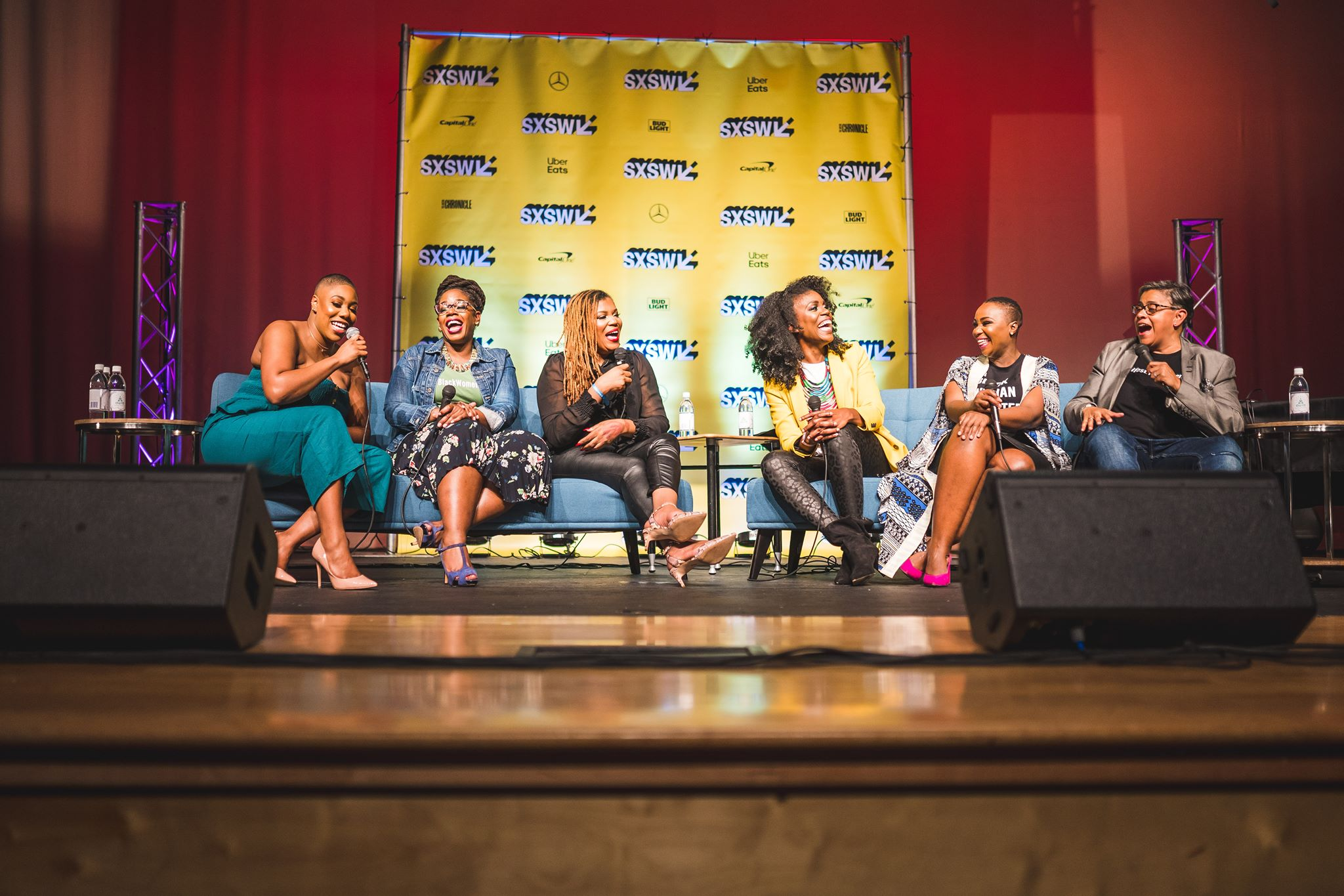 Higher Heights and Essence Magazine present #BlackWomenLead at SxSXW, powered by The League. Austin, TX. 2019.