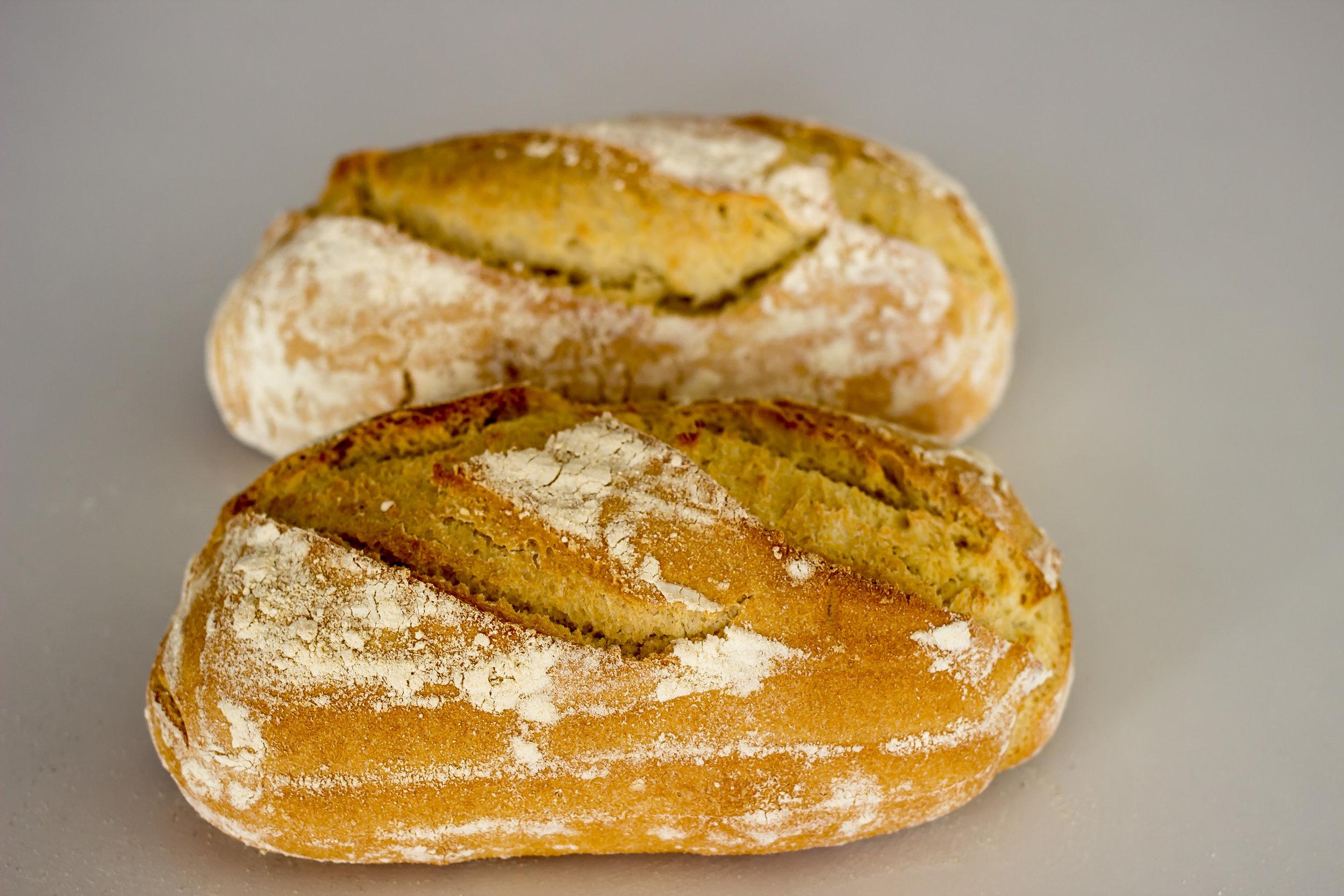 Pan de Trigo y Maíz - Harina VIENA y harina de MAÍZ