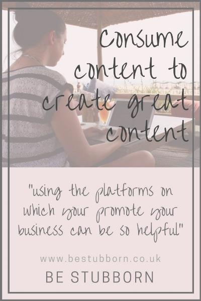 creating content graphic