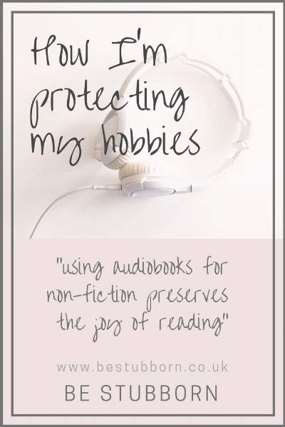 Audiobooks for non-fiction graphic