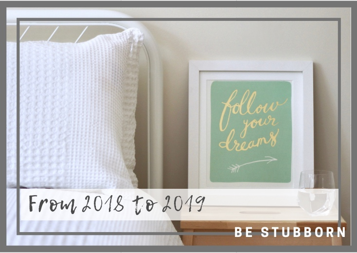 From 2018 to 2019: a year in review | Joanne Becker | Be Stubborn | Coaching | small business, creative coaching, resources, content creator