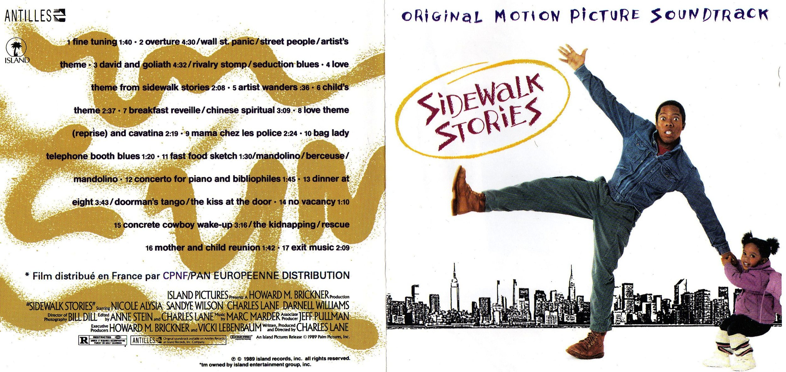 First release Sidewalk Stories