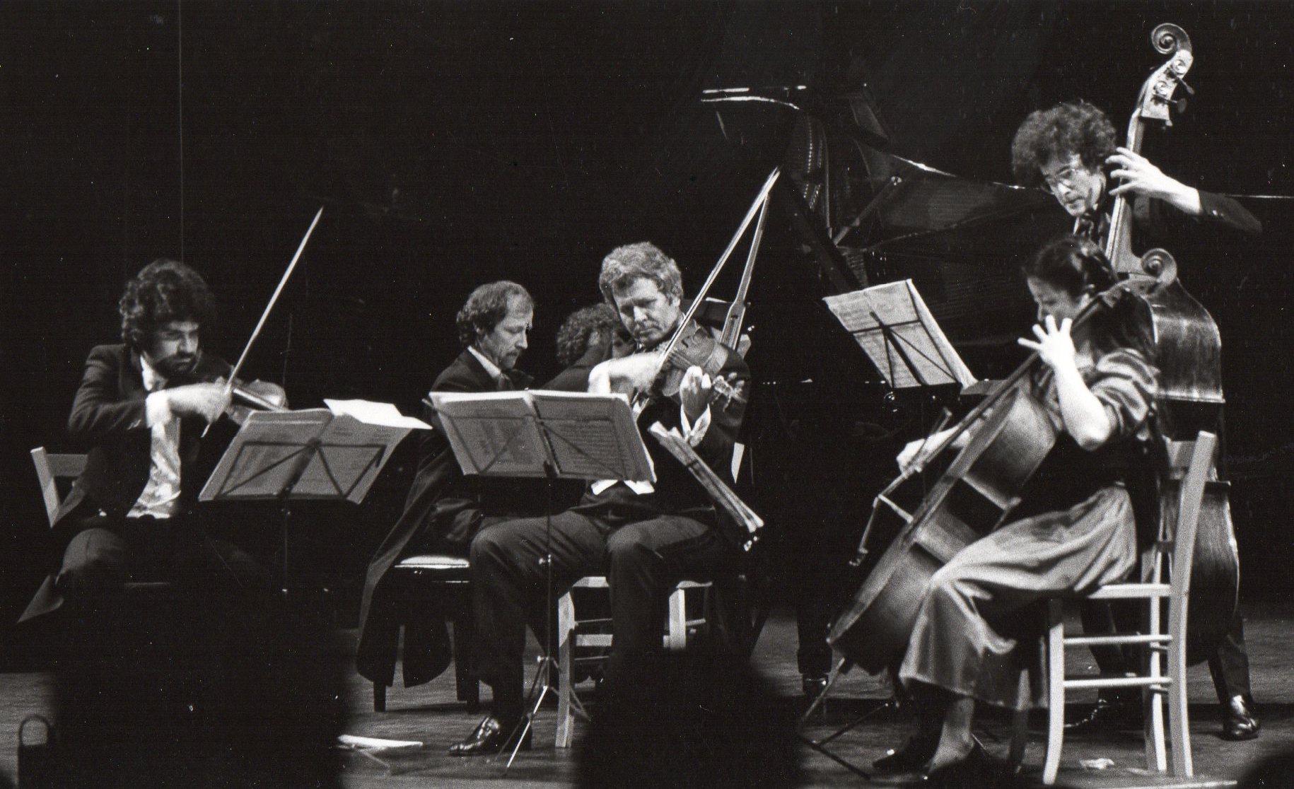 Quintet Arc et Senans: Daniel Zisman, Alain Planès, Hatto Beyerle, Cécilia Tsan, Marc Marder