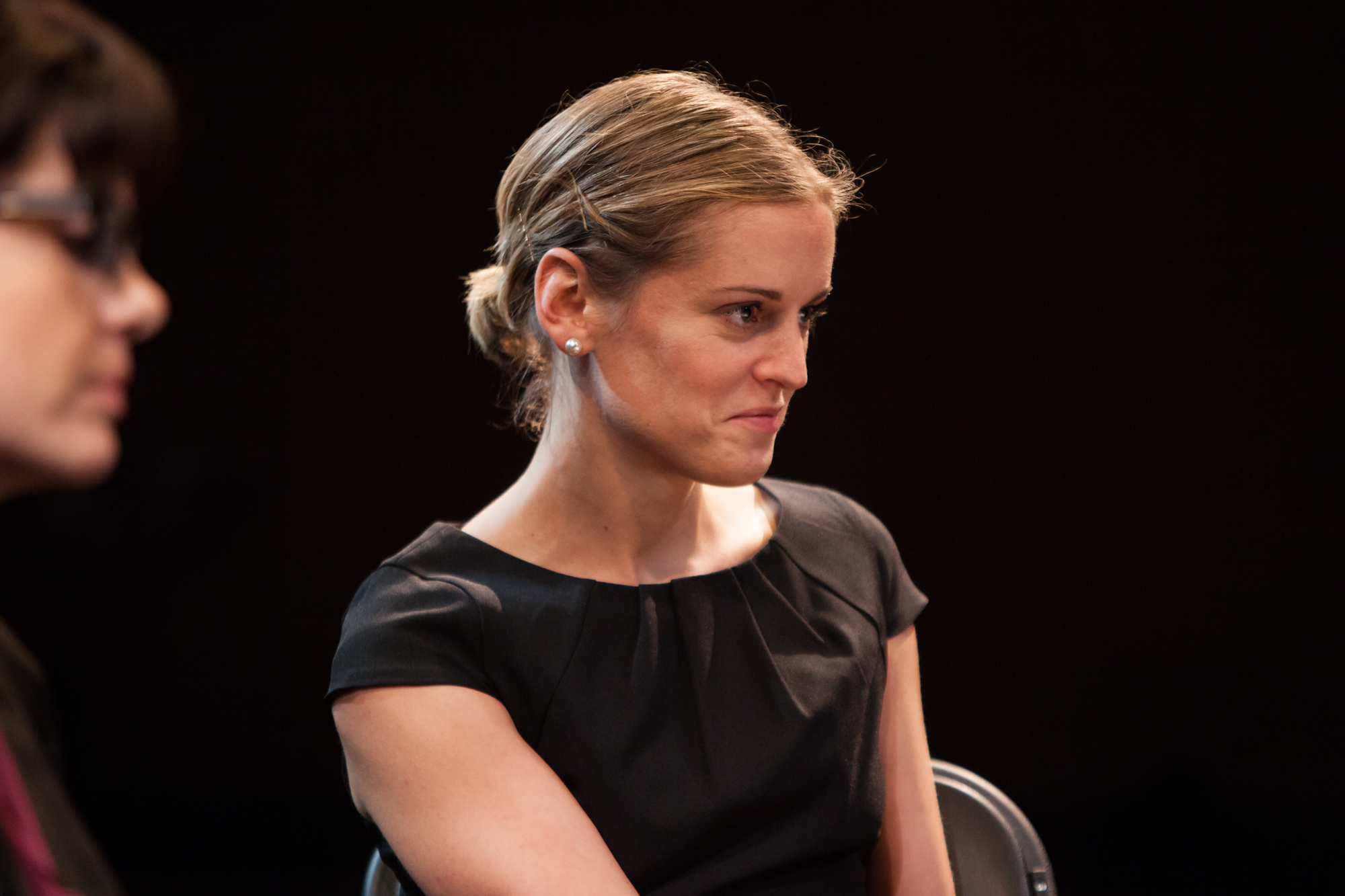 Denise Gough in Blondie by Hayley Squires