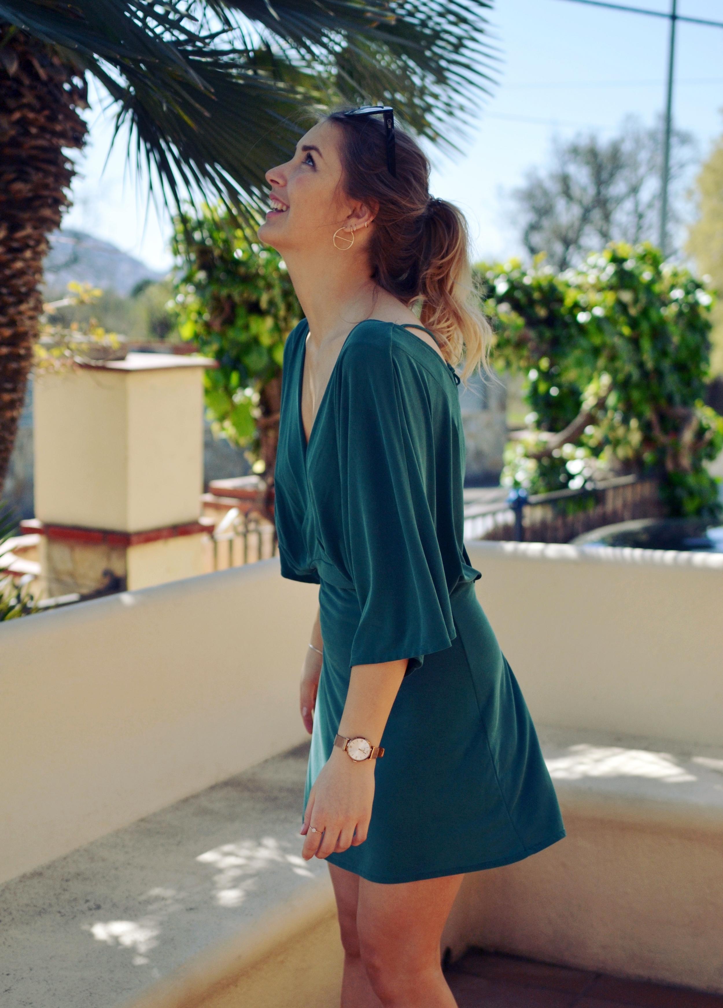 H&M Trend Green Dress