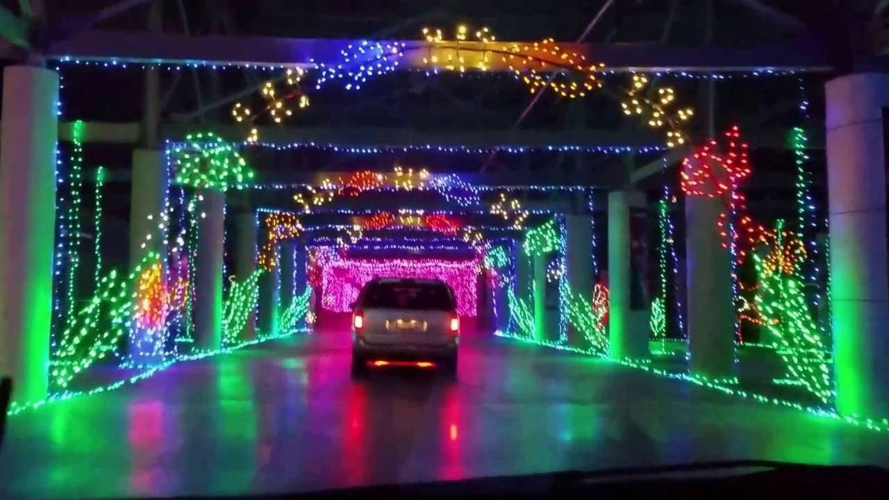 Tour the best Christmas Light show that Las Vegas has to offer by chauffeured party bus.
