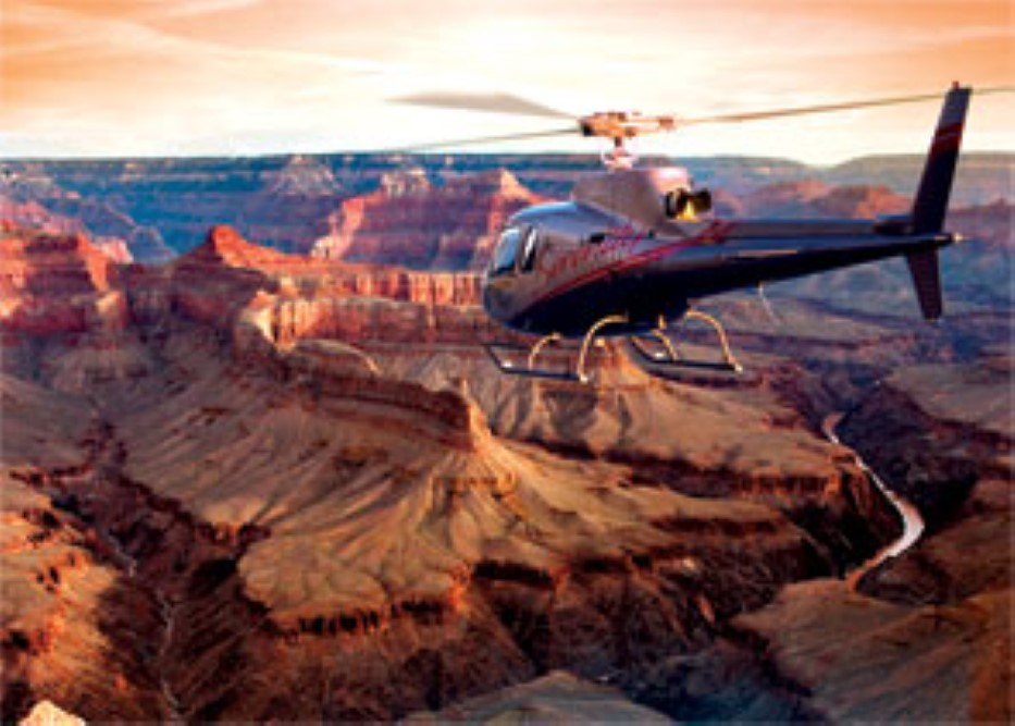 Grand Canyon South Rim Helicopter Tour from Las Vegas