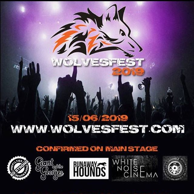 We still have tickets available to come and watch us performing at the awesome WolvesFest.  14 band for £10... now that's what I call a bargain!! If you're interested in coming along, drop us a message asking for a ticket 🎫😎🤘🏽
