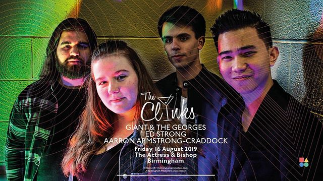 WHAT UP SON!! Catch us performing this Friday at @actress.and.bishop supporting the awesome @theclinksband alongside our amazing friends @giantandthegeorges - - - - #band #performance #gig #concert #show #music #instruments #indie #alternative #pop #vocalist #vocals #singer #guitarist #guitar #bassist #bass #drummer #drums #drumset #drumkit #actressandbishop #actress&bishop #birmingham #unitedkingdom #westmidlands