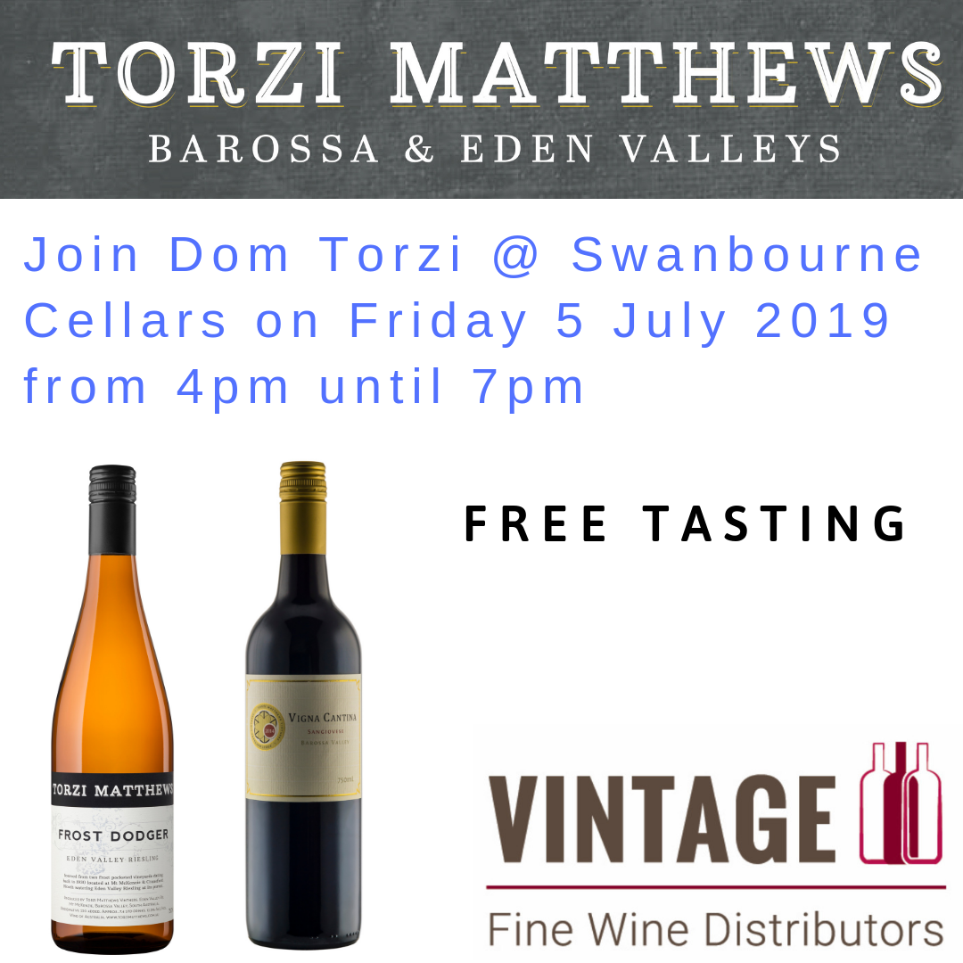 Join Dom Torzi @ Swanbourne Cellars on Friday 5 July 2019 from 4pm until 7pm.png