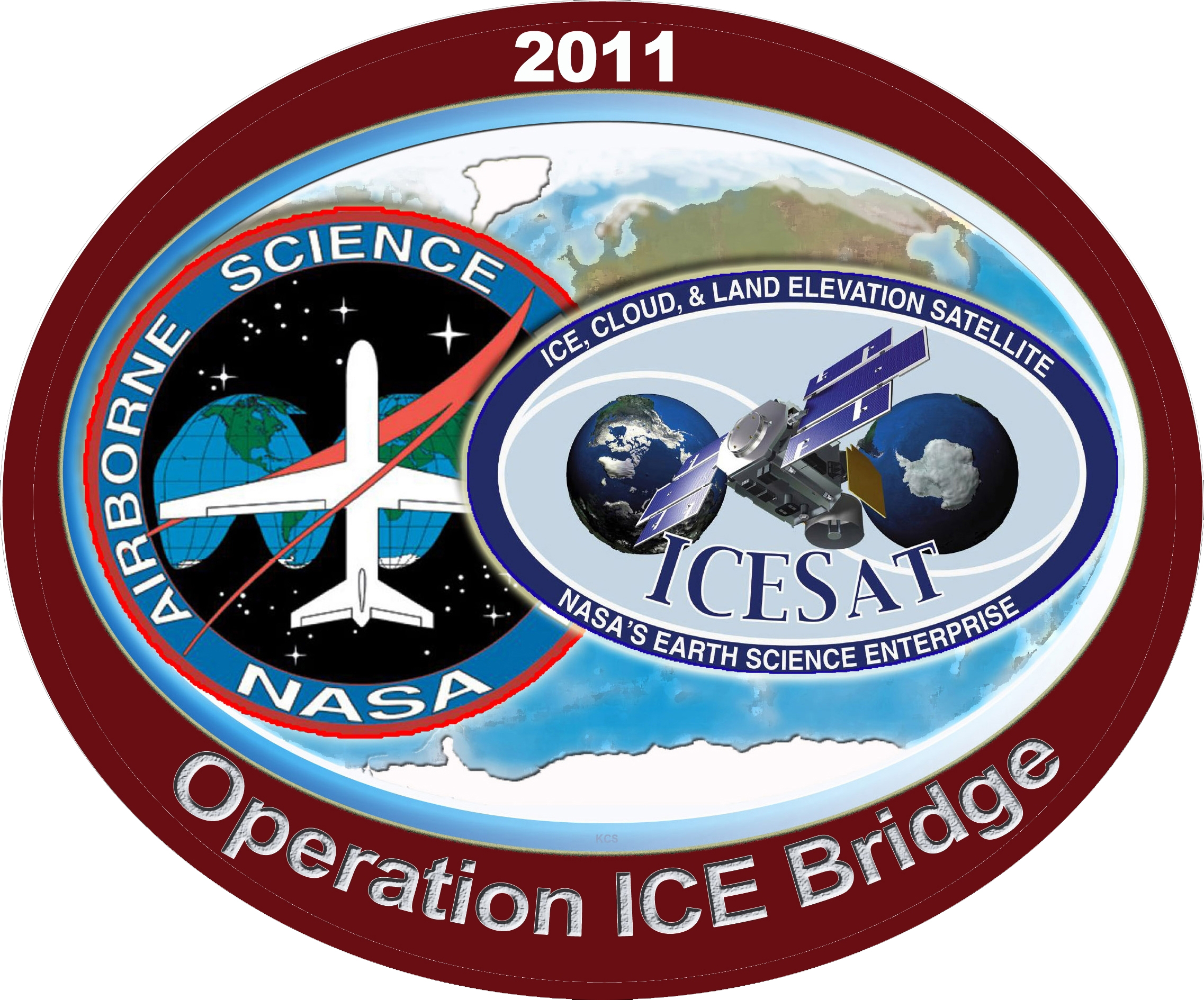 Operation ICE Bridge: Measuring the Changing Poles -