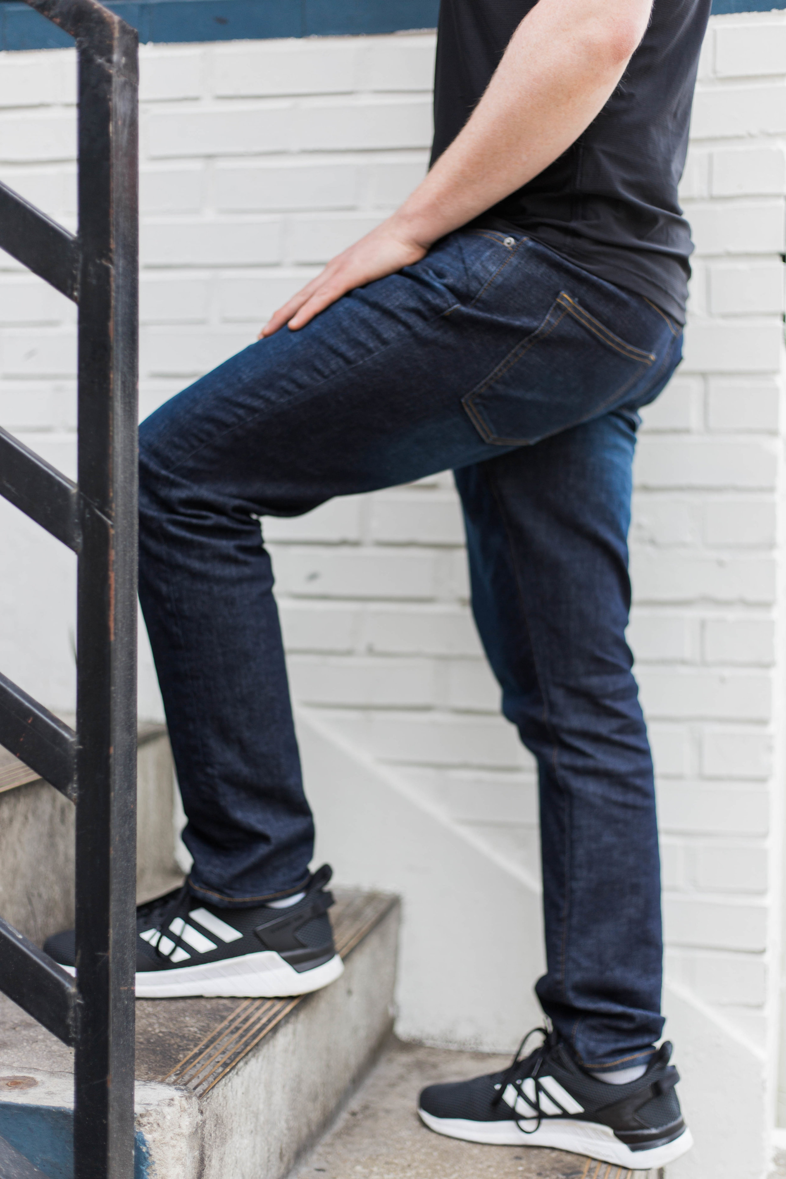 When You Shouldn't Wear Jeans: Essential Rules Distilled Down to an Easy Guide | On the Street Where We Live (aretherelilactrees.com)  DSTLD, denim, jeans, men's fashion, men's style