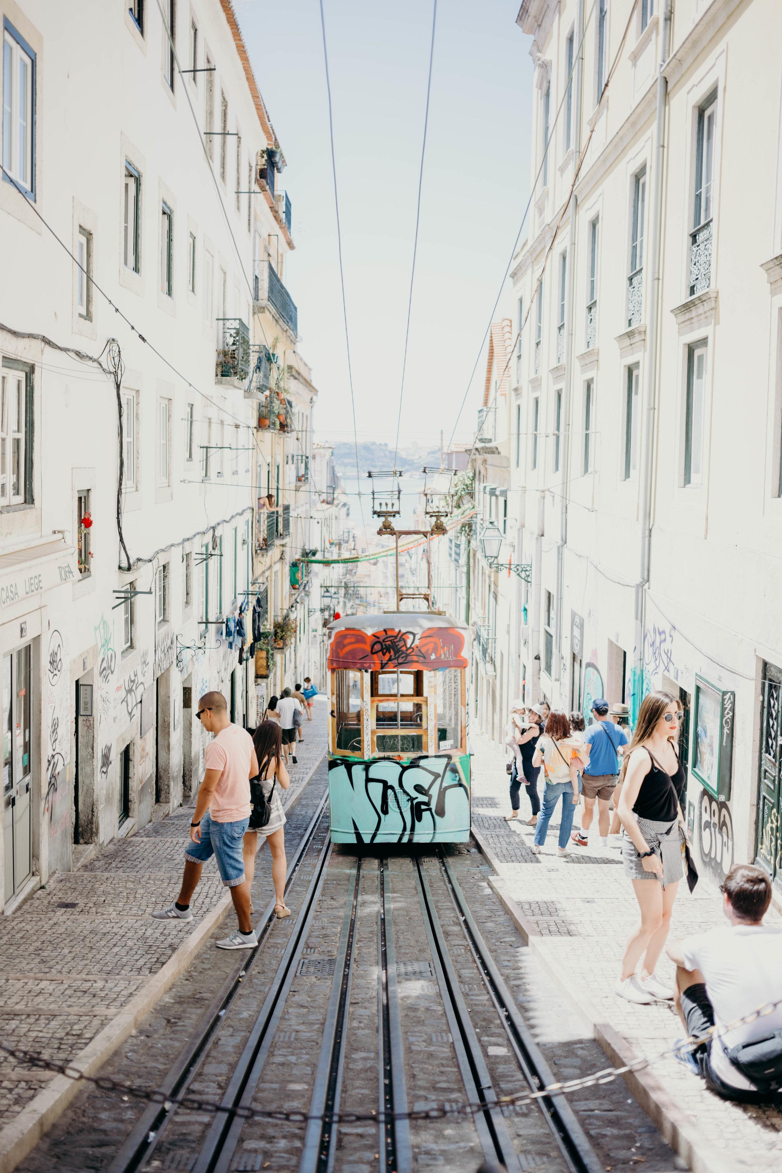 Our Portugal Travel Diary: Lisbon, Porto, and More | On the Street Where We Live (aretherelilactrees.com)  Lisbon tram, Baixa, Chiado